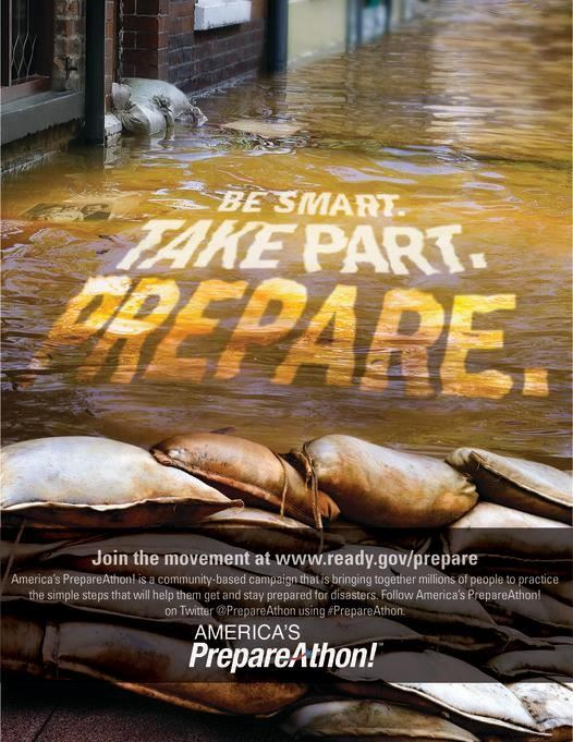 Be Smart Be Prepared poster